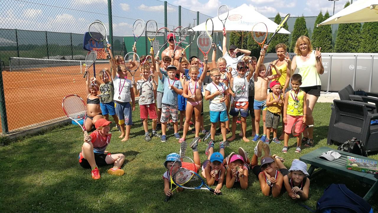 Denné letné tenisové tábory